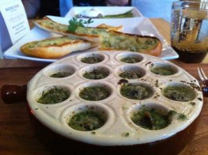 Escargot at Brasserie Gerard