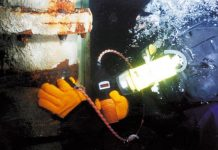 Cygnus Instruments underwater thickness gauge