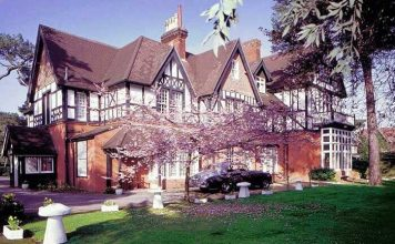 Langtry Manor Hotel in Bournemouth