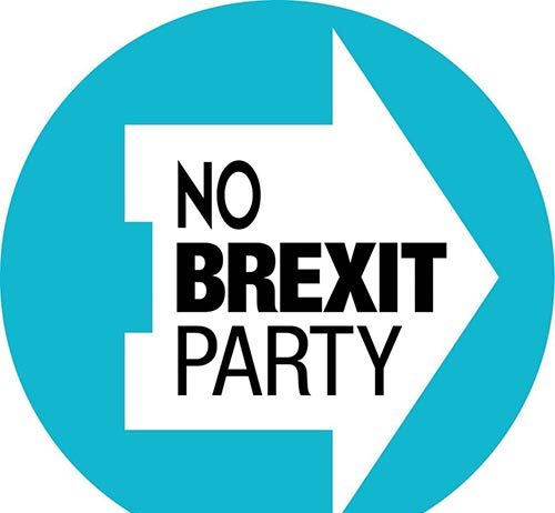 No Brexit Party logo