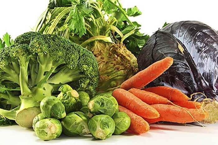 Autumn produce vegetables
