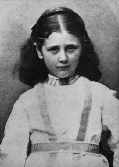 Beatrix Potter as a child