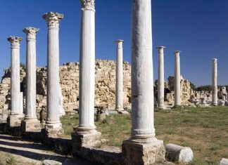 Salamis amphitheatre in Cyprus
