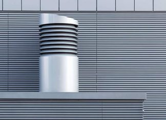 Smoke ventilation funnel