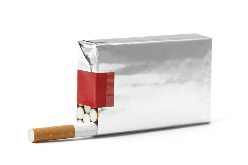 tobacco packaging example