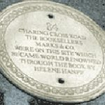 84 Charing Cross Road plaque