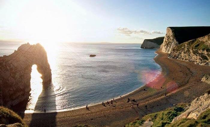 Durdle Door on the Jurassic coast