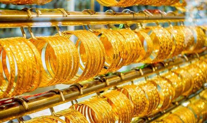 Gold shopping in Abu Dhabi
