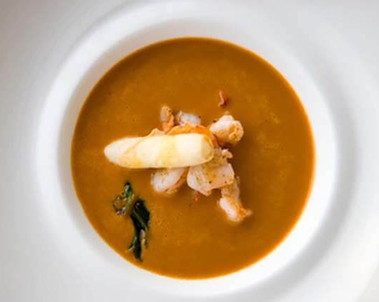 Prawn & Brandy Bisque