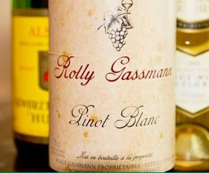 Rolly Gassmann 2006 Pinot Blanc Alsace wIne