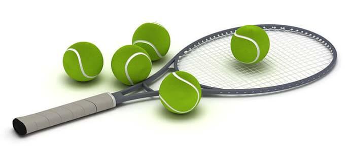 Stringing tennis rackets