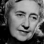 British author Agatha Christie