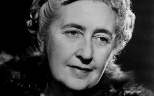 British author Agatha Christie