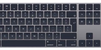 Apple Wireless Keyboard space grey