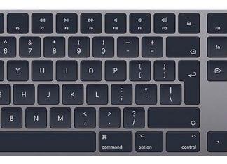 Apple Wireless Keyboard space grey