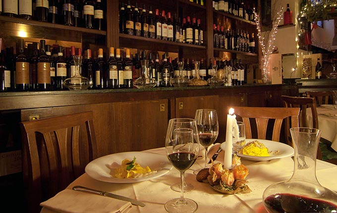 Fine dining at la Giostra in Florence