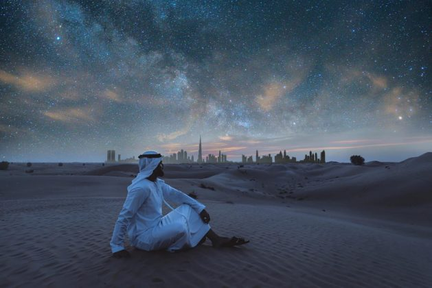 Sleeping under the desert stars in Dubai