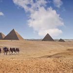 Pyramids on the Giza Plateau