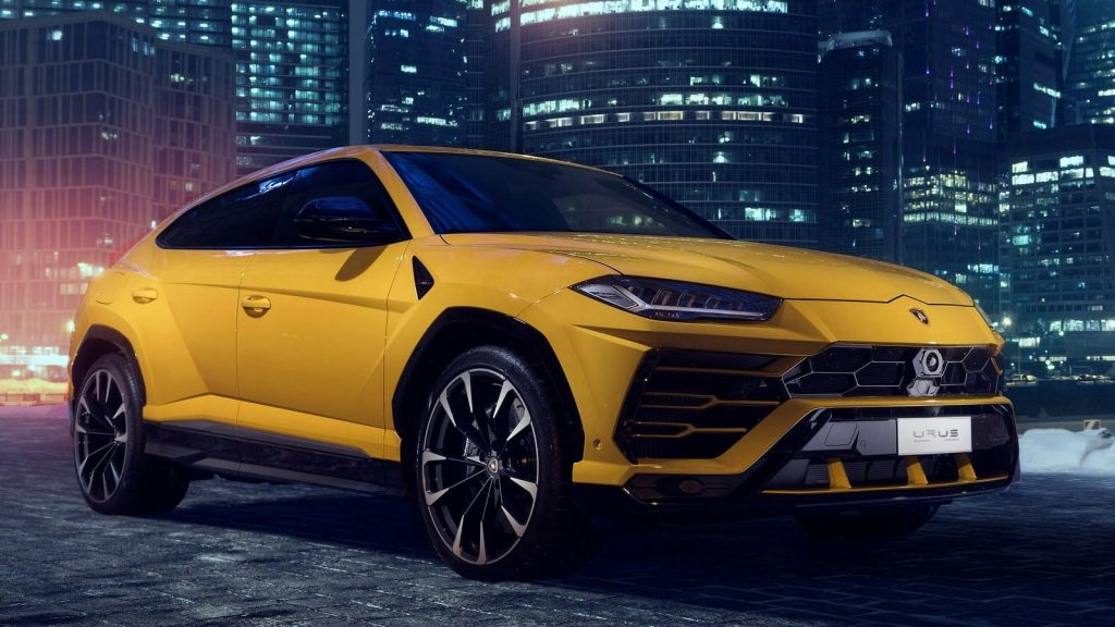 Win a car on BOTB like this Lamborghini Urus