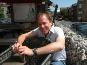 Mark Cribb, owner at the Urban Beach Hotel & Bistro