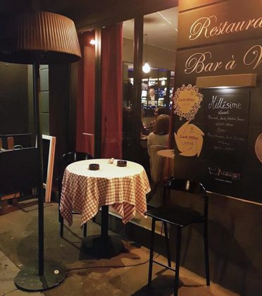 Millesime wine bar in Rouen