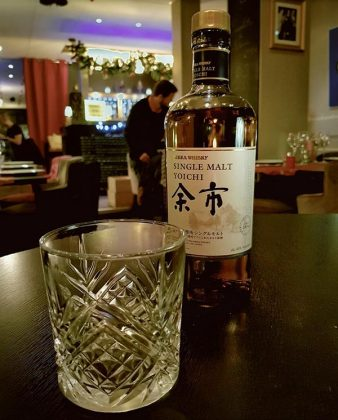 Yoichi single malt at Millesime