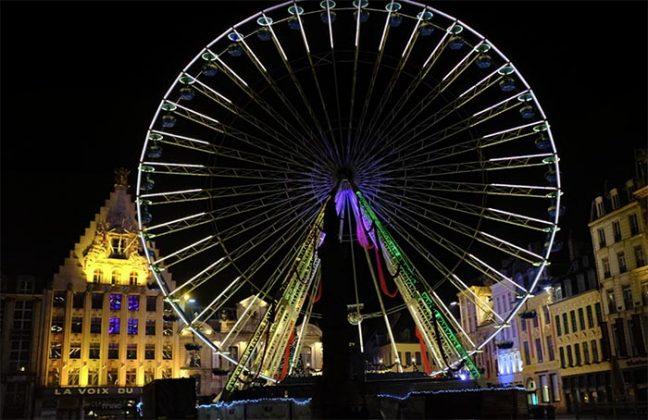 Rouen Ferris wheel