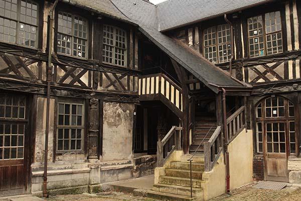 St Maclou courtyard